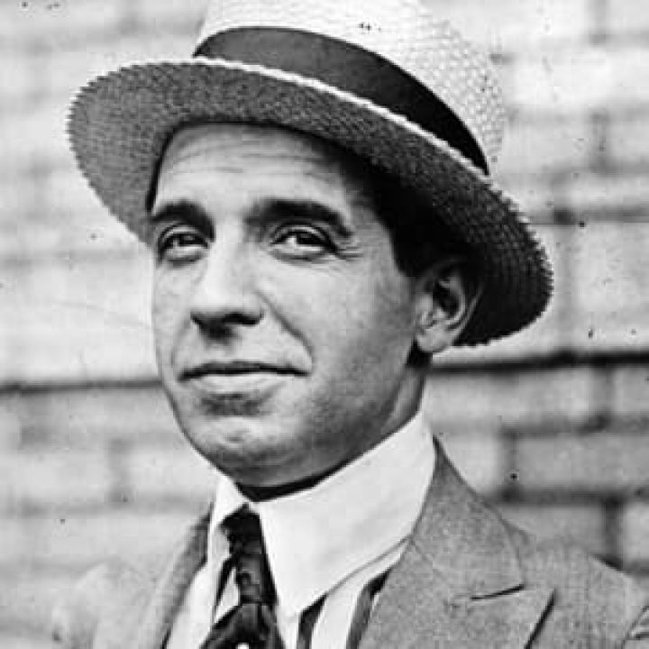 Charles Ponzi Biography